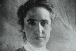 Headshot of Henrietta Leavitt, age approximately 30 years old. Image courtesy Harvard College Observatory, Photographic Glass Plate Collection.