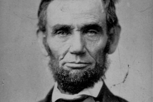 Photo of Abraham Lincoln courtesy of Ford's Theatre National Historic Site.