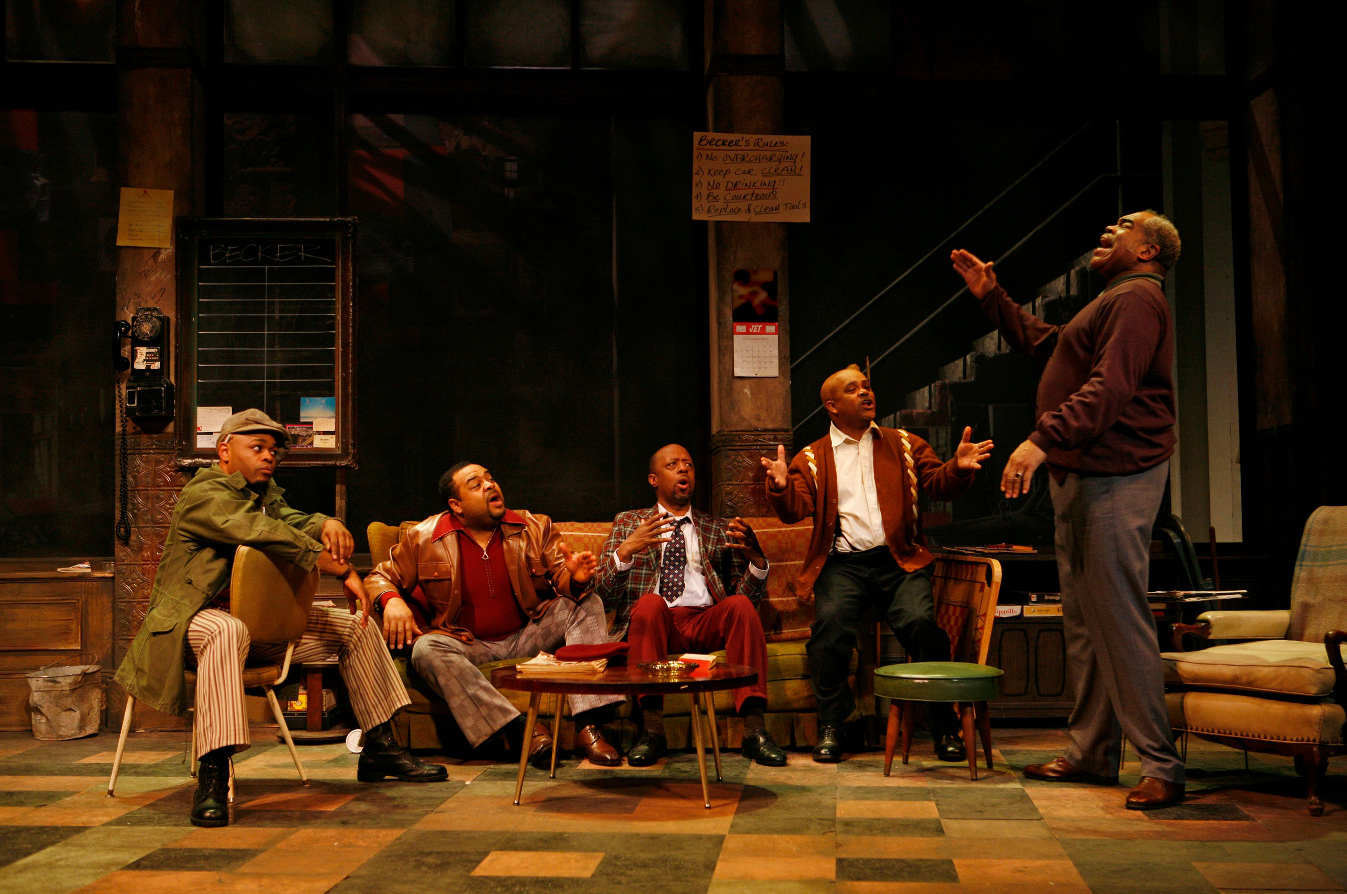 Jitney | Fords Theatre
