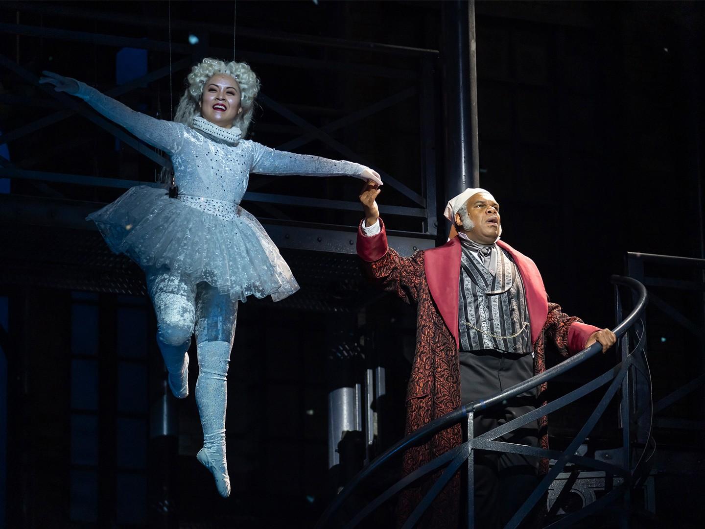A Christmas Carol Ghosts.A Christmas Carol Fords Theatre