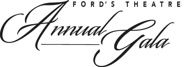 Ford's Theatre Annual Gala. Logo.